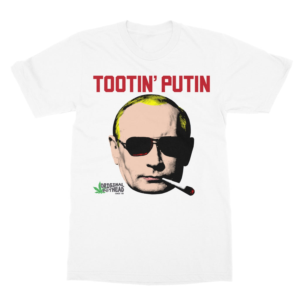 Potheads Tootin' Putin T-Shirt - The Official Aunty Acid Store