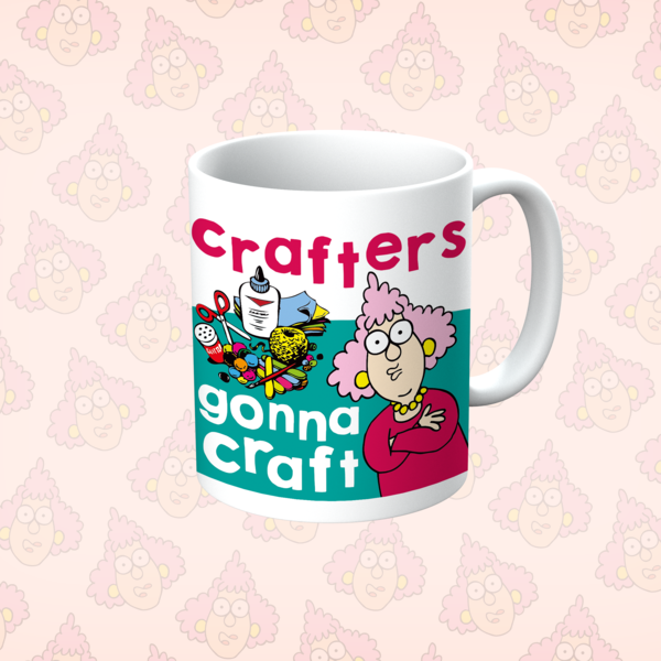 Aunty Acid Crafters Gonna Craft Mug - The Official Aunty Acid Store