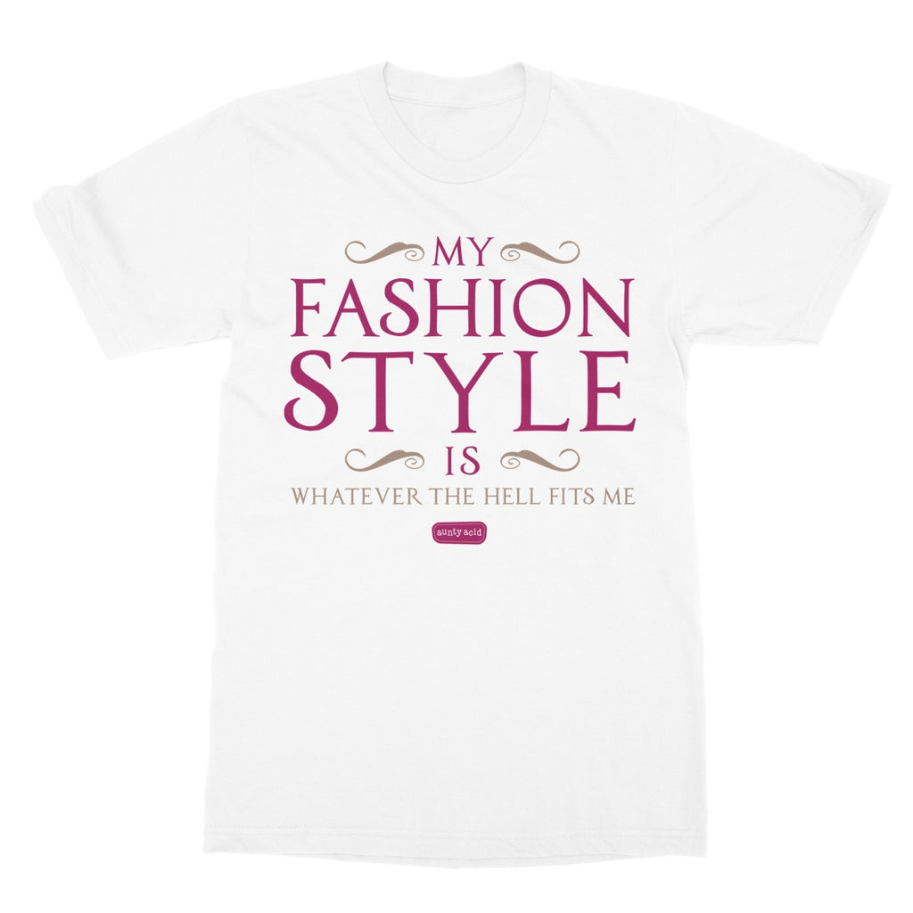 Aunty Acid Fashion Style Softstyle T-Shirt - The Official Aunty Acid Store