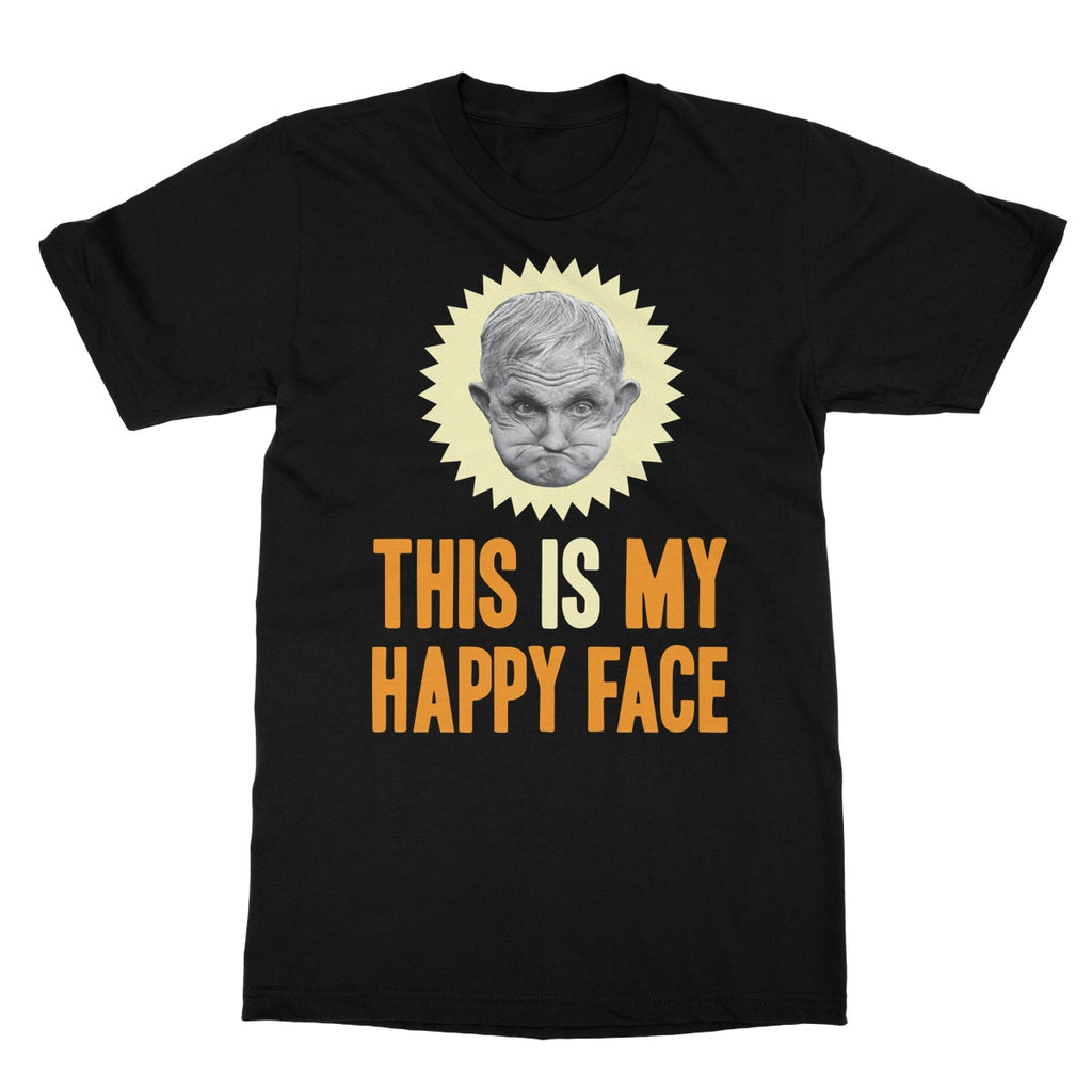 Grumpy Old Gits Happy Face T-Shirt