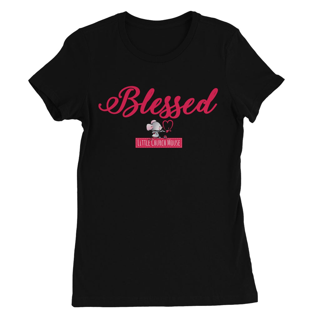 Little Church Mouse Blessed T-Shirt
