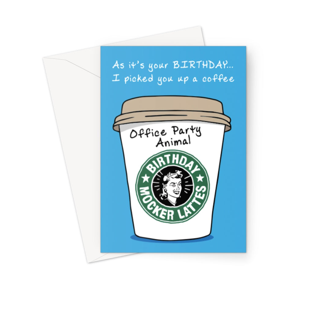 Office Party Animal  Greeting Card