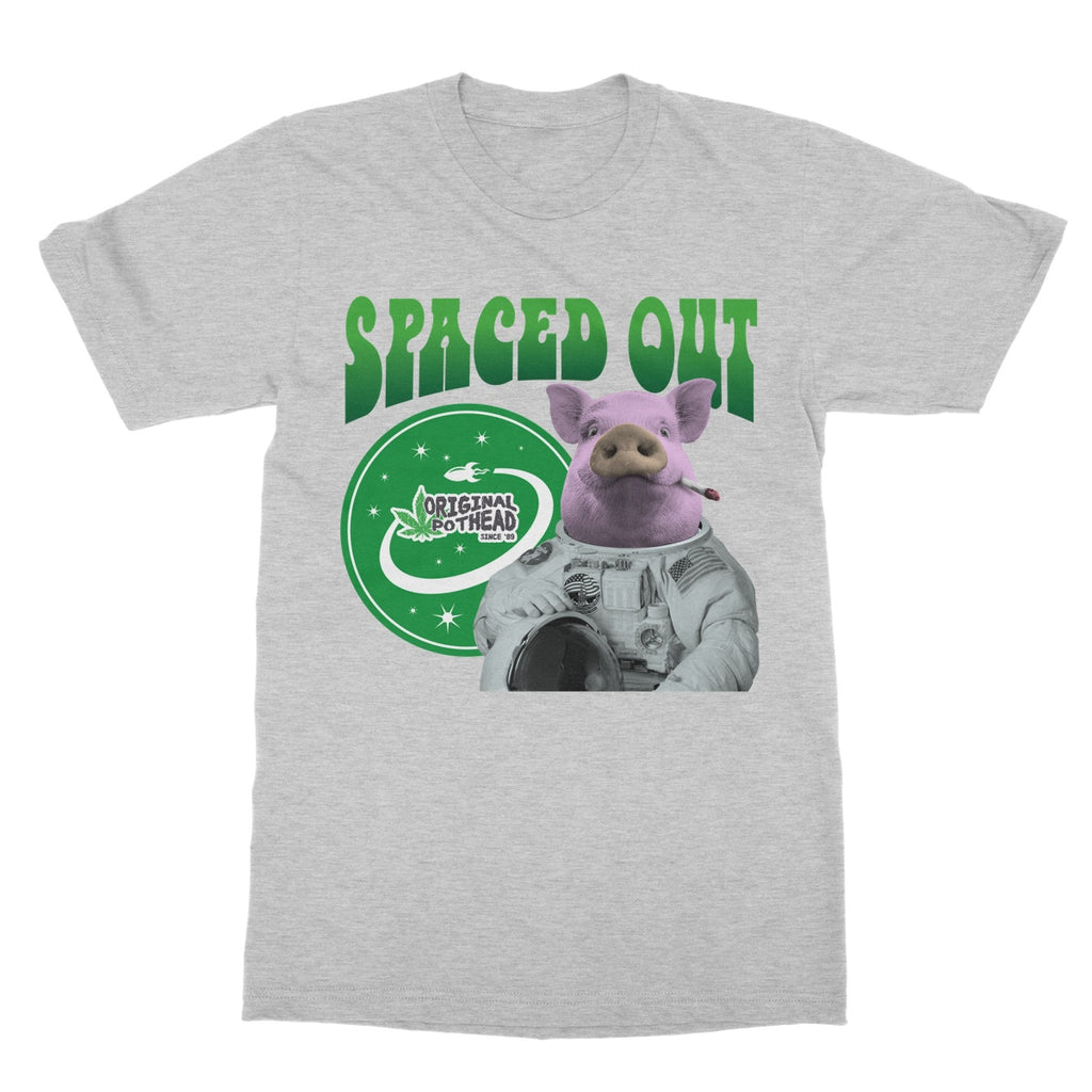 Potheads Spaced Out Pig T-Shirt - The Official Aunty Acid Store