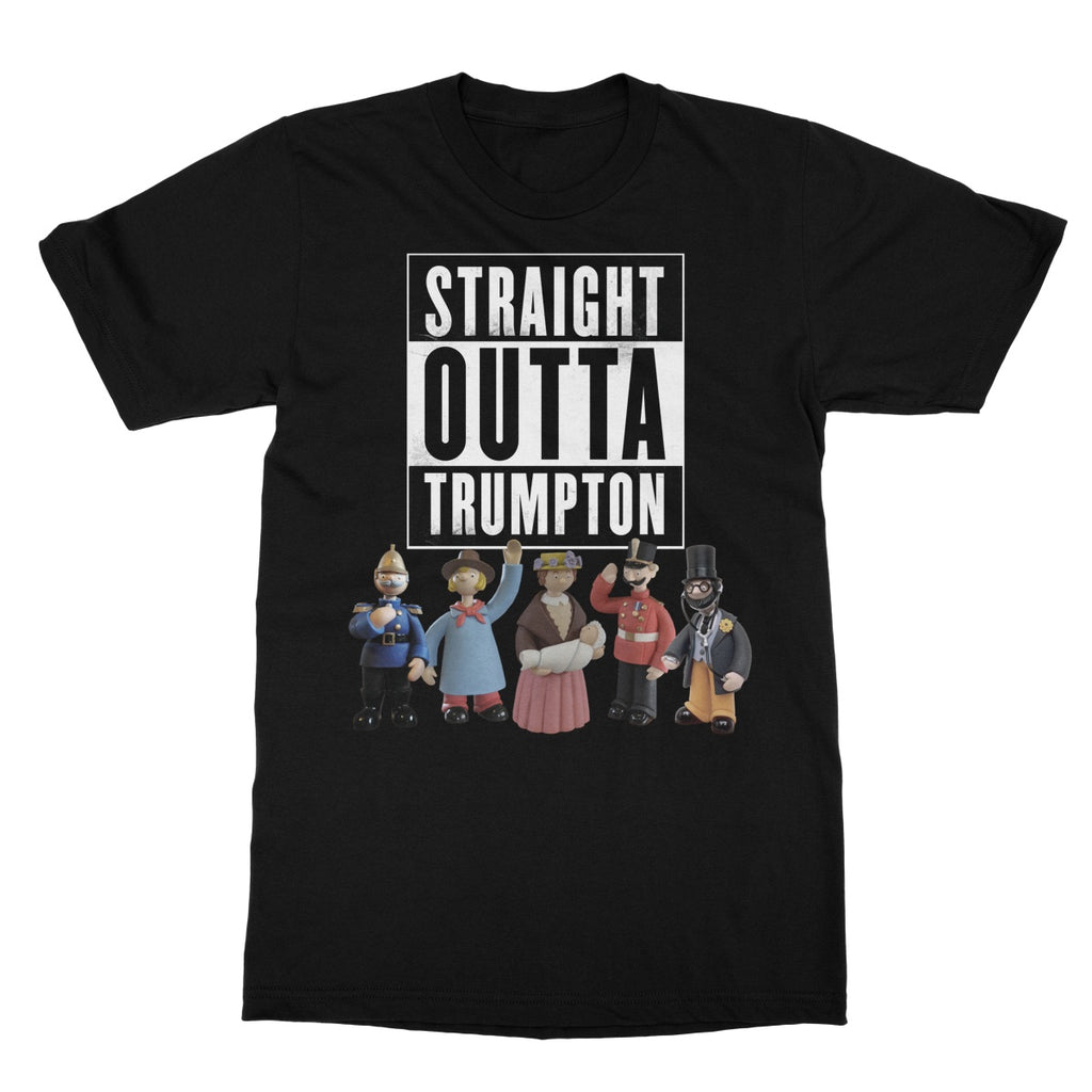 Potheads Straight Outta Trumpton T-Shirt - The Official Aunty Acid Store