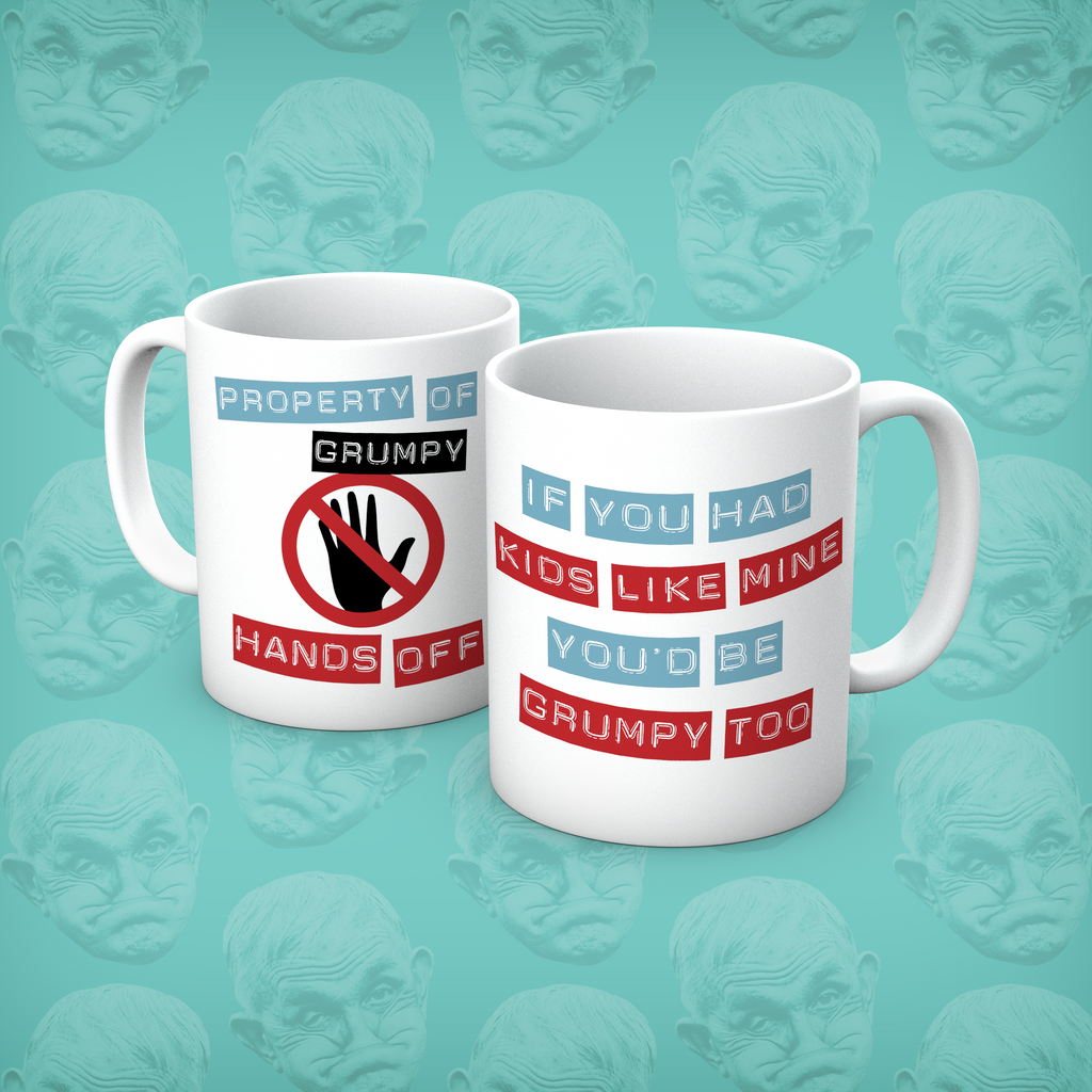 Grumpy Old Gits Dad2 Mug - The Official Aunty Acid Store