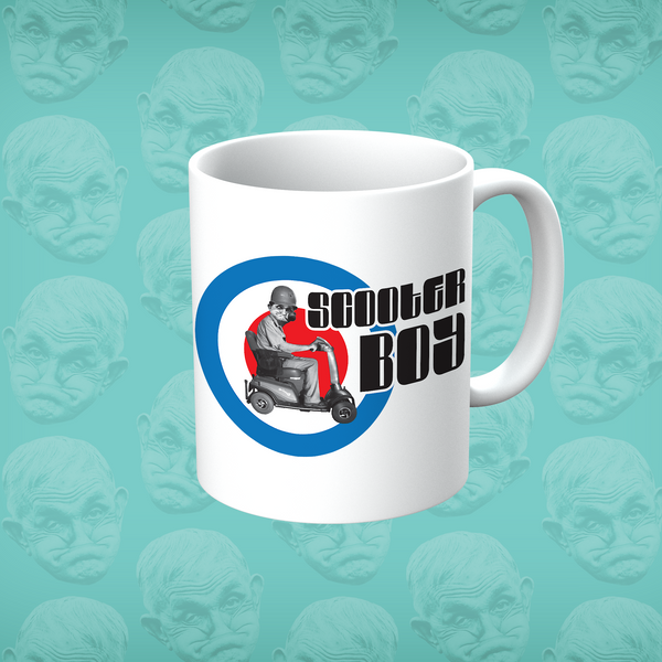 Grumpy Old Gits Scooter Boy Mug - The Official Aunty Acid Store