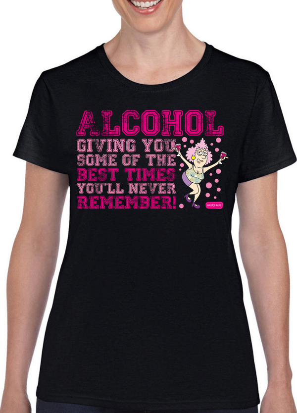 Aunty Acid Alcohol T-Shirt - The Official Aunty Acid Store
