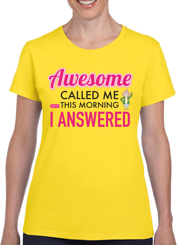 Aunty Acid Awesome T-Shirt - The Official Aunty Acid Store
