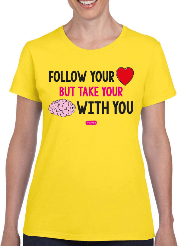 Aunty Acid Follow Your T-Shirt - The Official Aunty Acid Store