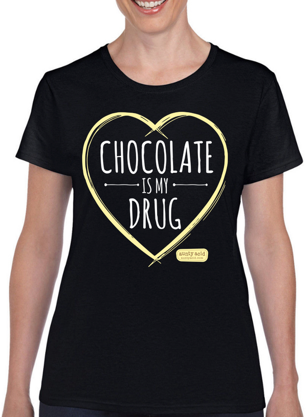 Aunty Acid Chocolate T-Shirt - The Official Aunty Acid Store