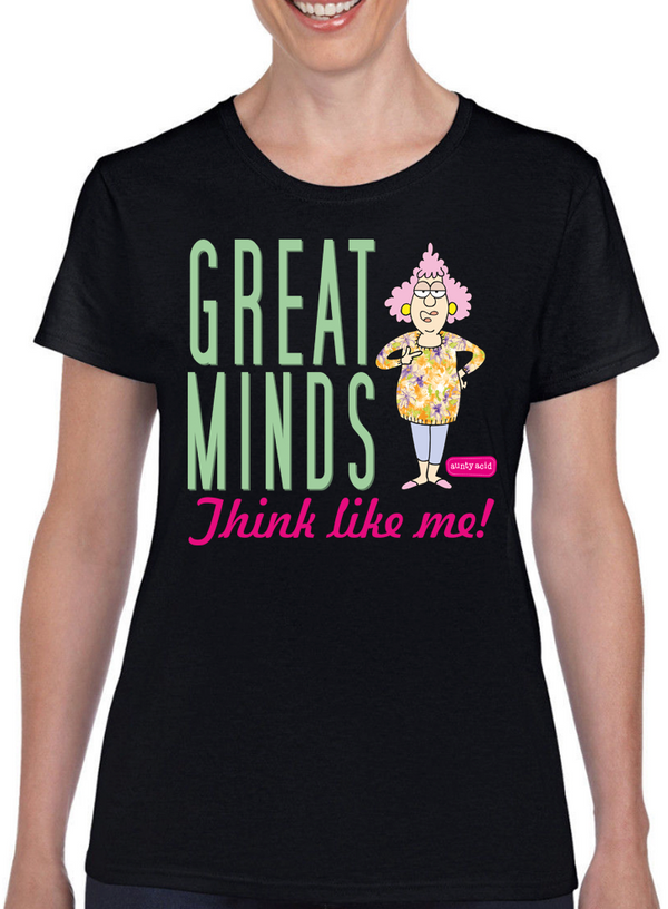 Aunty Acid Great Mind T-Shirt - The Official Aunty Acid Store