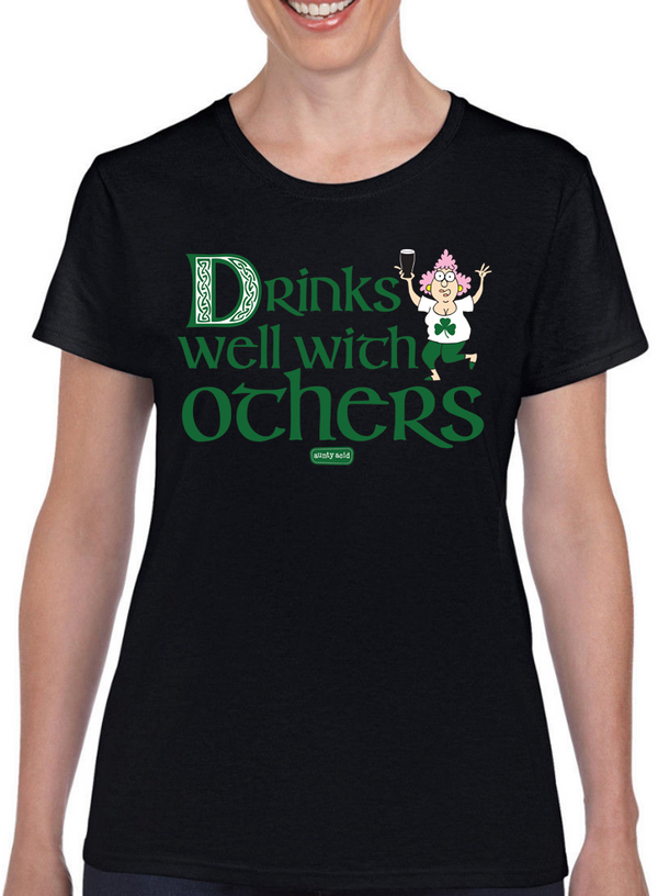 Aunty Acid Drinks Well T-Shirt - The Official Aunty Acid Store