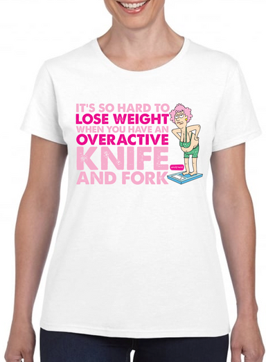 Aunty Acid Lose Weight T-Shirt