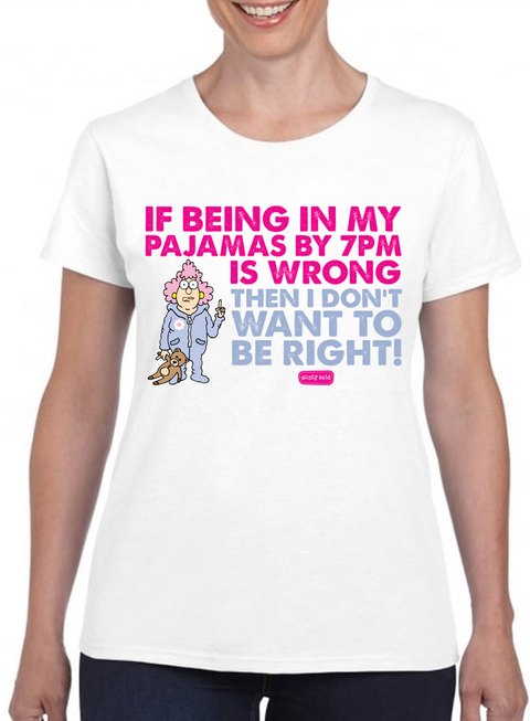Aunty Acid Want to Be Right T-Shirt - The Official Aunty Acid Store