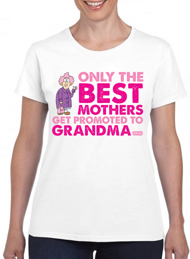 Aunty Acid Promoted To Grandma T-Shirt