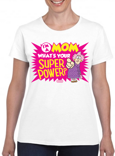 Aunty Acid Superpower T-Shirt - The Official Aunty Acid Store