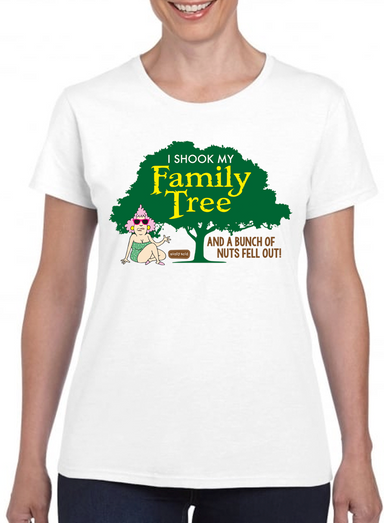 Aunty Acid Family Tree T-Shirt - The Official Aunty Acid Store