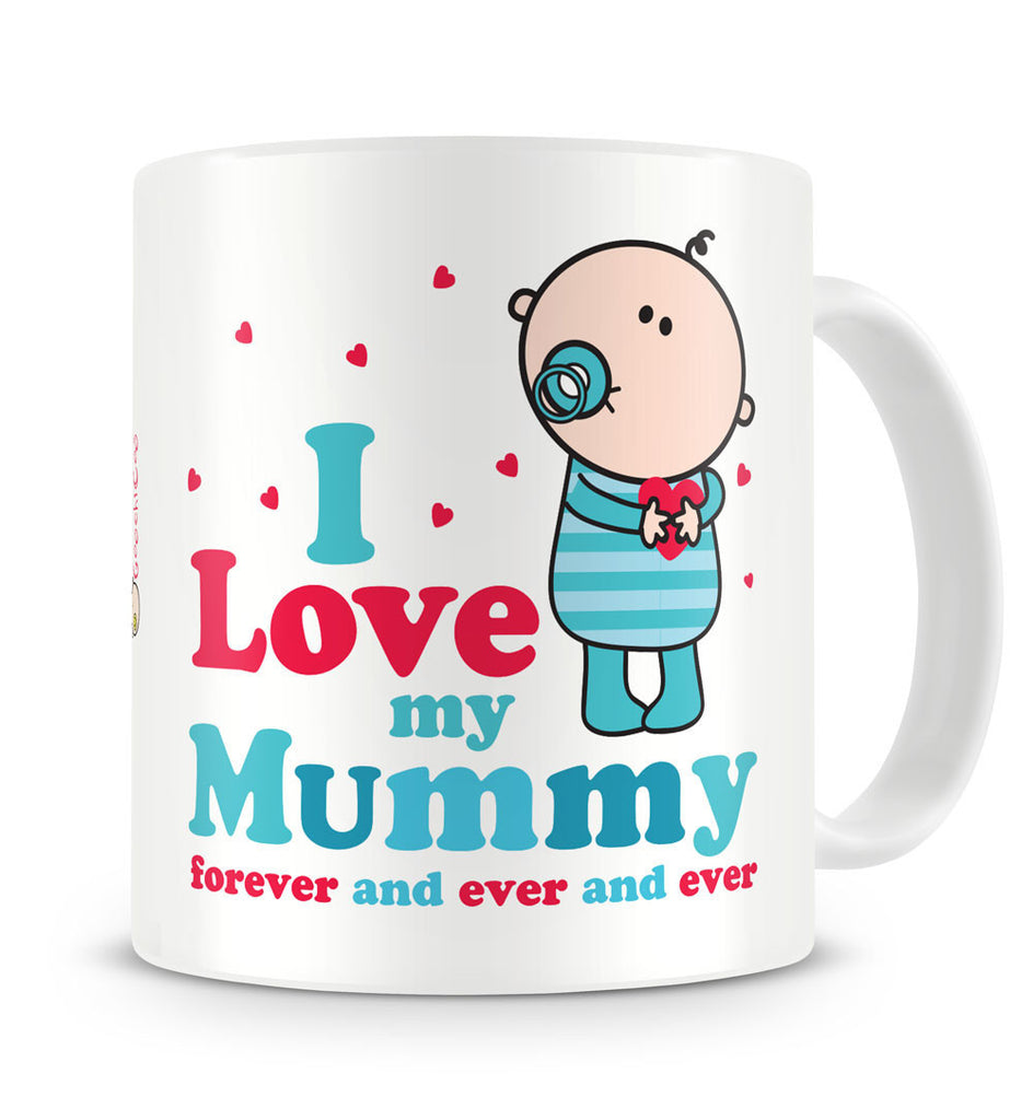 Goochicoo Love Mum Boy Mug - The Official Aunty Acid Store