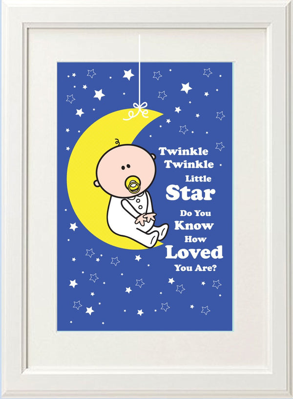 Goochicoo Twinkle Twinkle Boy Print - The Official Aunty Acid Store