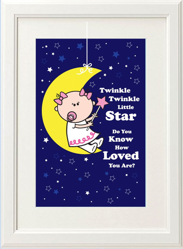 Goochicoo Twinkle Twinkle Girl Print - The Official Aunty Acid Store