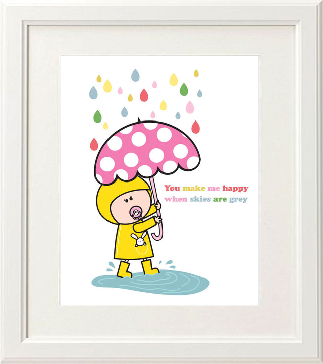 Goochicoo You Make Me Happy Print - The Official Aunty Acid Store