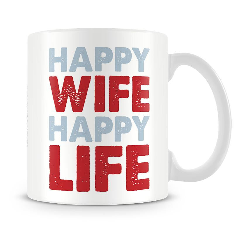 Grumpy Old Gits Happy Wife Mug - The Official Aunty Acid Store