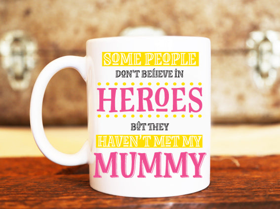 Goochicoo Mummy Is A Hero Mug - The Official Aunty Acid Store
