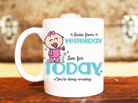 Goochicoo Learn From Yesterday Mug - The Official Aunty Acid Store