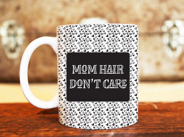 Goochicoo Mom Hair Don't Care Mug - The Official Aunty Acid Store