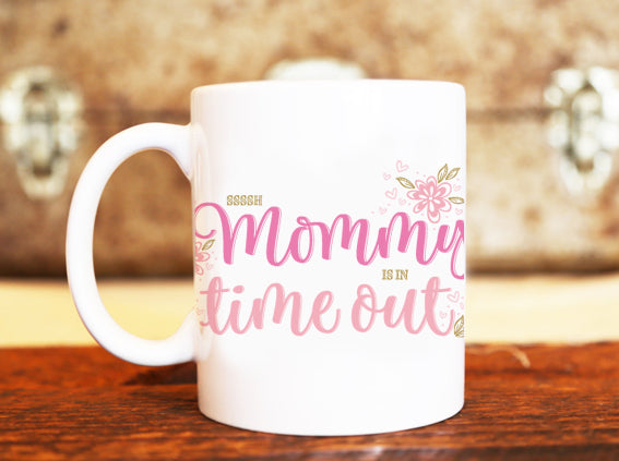 Goochicoo Mommy's In Time Out Mug - The Official Aunty Acid Store