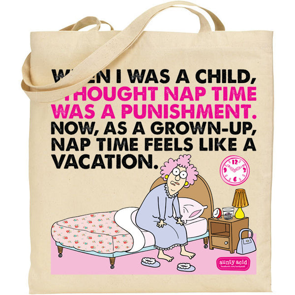 Aunty Acid Nap Tote Bag