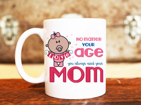 Goochicoo You Always Need Your Mom Mug