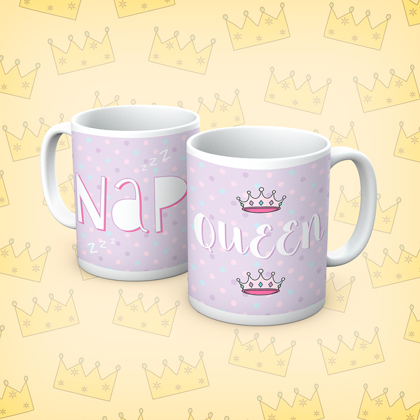 Queens Of Sass Nap Queen Mug