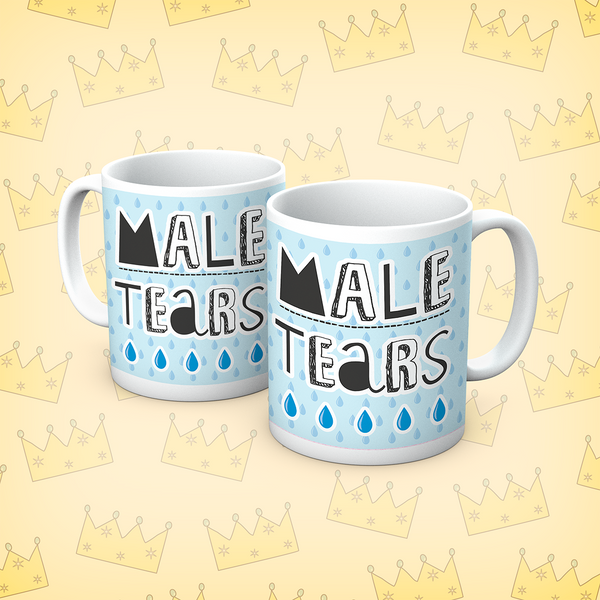 Queens Of Sass Male Tears Mug