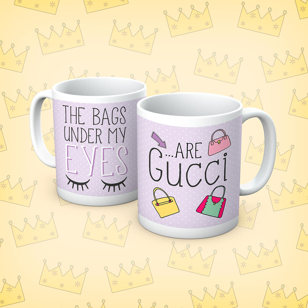 Queens Of Sass Under My Eyes Mug - The Official Aunty Acid Store