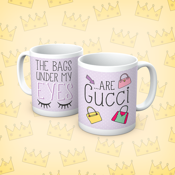 Queens Of Sass Under My Eyes Mug