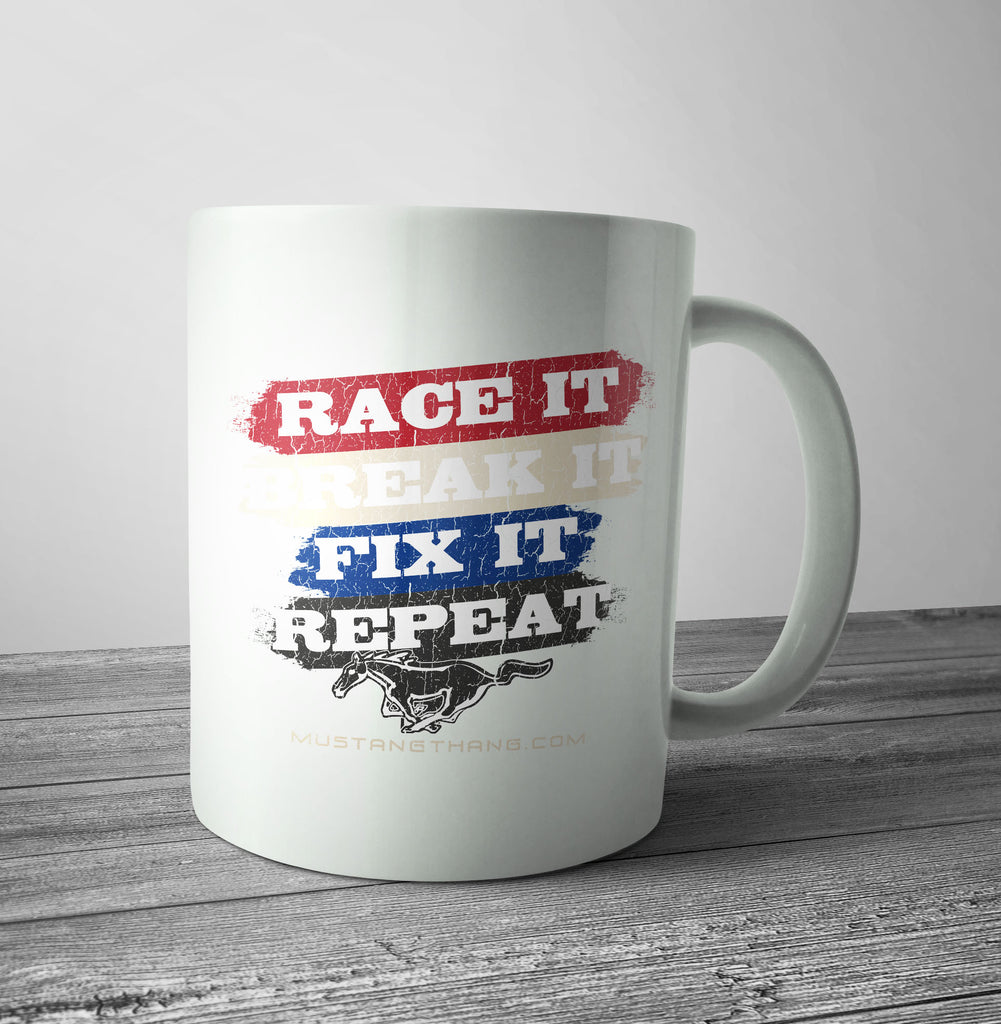 Mustang Thang Race It Mug