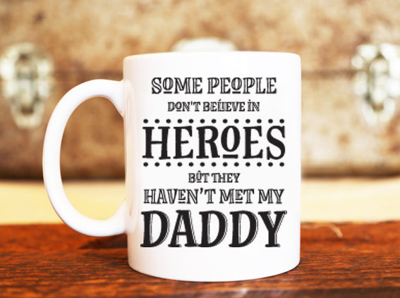 Goochicoo Daddy Is A Hero Mug - The Official Aunty Acid Store