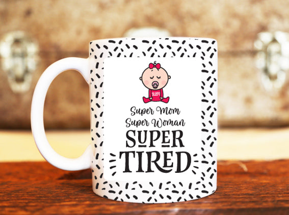 Goochicoo Super Mom Mug - The Official Aunty Acid Store