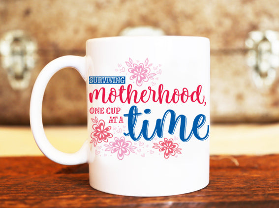 Goochicoo Surviving Motherhood Mug - The Official Aunty Acid Store