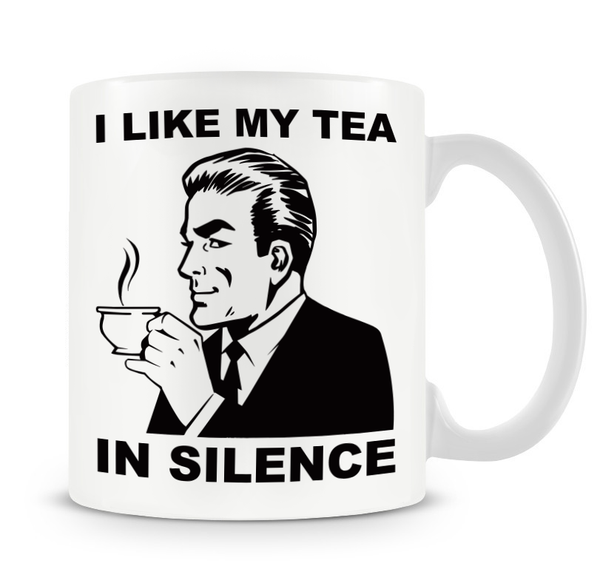 Grumpy Old Gits Tea In Silence Mug - The Official Aunty Acid Store