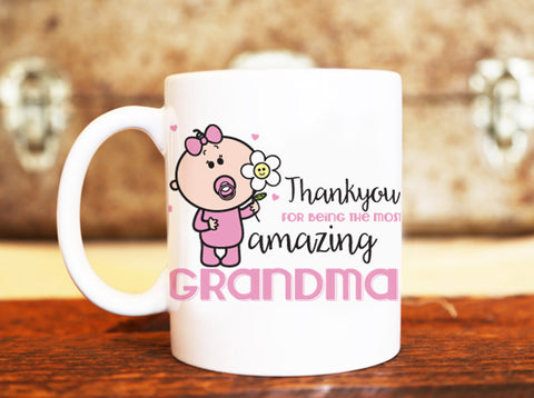 Goochicoo Amazing Grandma Mug - The Official Aunty Acid Store