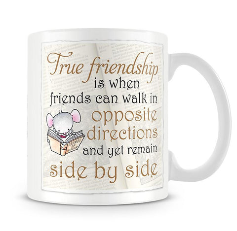 Little Church Mouse True Friendship Mug
