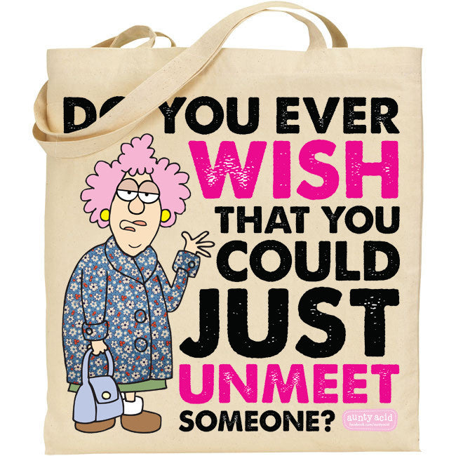 Aunty Acid Unmeet Tote Bag
