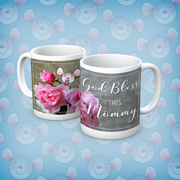 Little Church Mouse God Bless This Mommy Mug