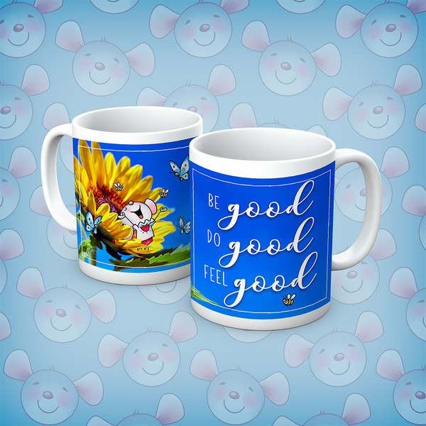 Little Church Mouse Be Good Do Good Feel Good Mug