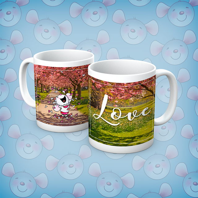 Little Church Mouse Love Mug