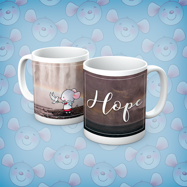 Little Church Mouse Hope Mug