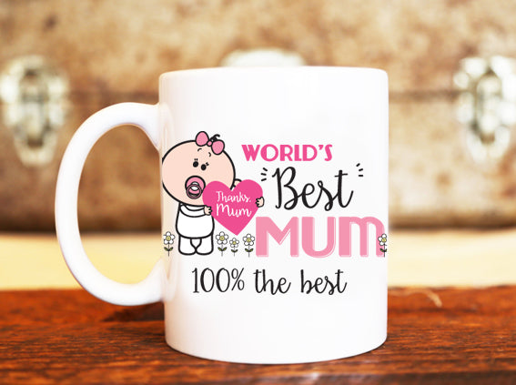 Goochicoo World's Best Mom Mug - The Official Aunty Acid Store