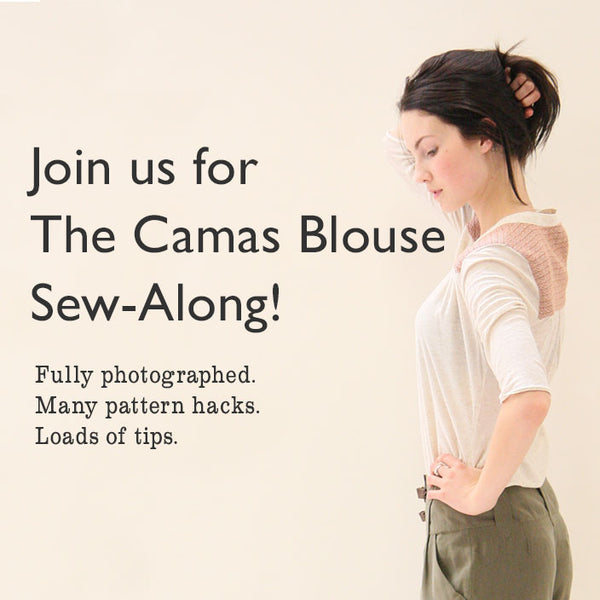 Camas Blouse Sew-Along